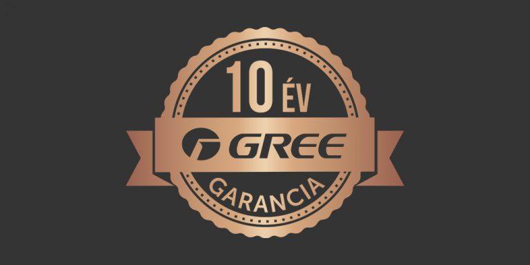 Gree Légkondicionálók 10 év jótállással